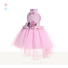 new design 2020 kids clothes baby girl white dress wedding party dresses for children flower girl dresses long sleeve lace gown Children Clothes Birthday Party Dresses Bow Lace Tuxedo Kids Dress For Wedding Formally Flower Girl Dresses Baby Girls Clothes