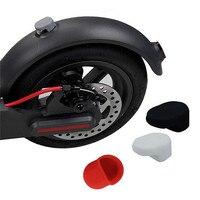 Aplicável para xiaomi m365 acessórios scooter elétrico ao ar livre traseiro fender gancho após pedal fender escudo silicone capa eleger|Peças e acessórios p/ scooter| |  -