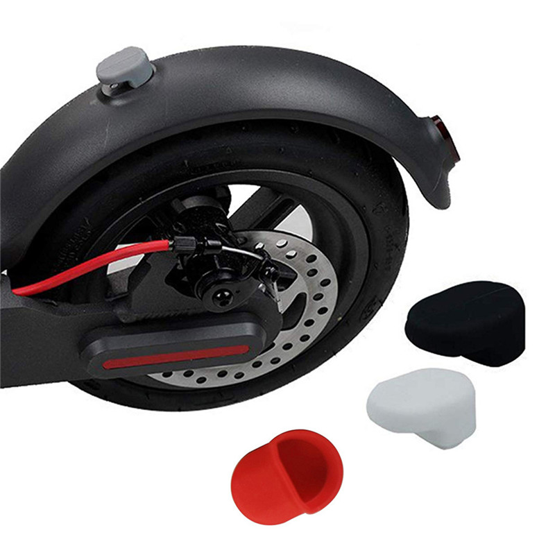 Applicable For Xiaomi M365 Outdoor Electric Scooter Accessories Rear Fender Hook After Pedal Fender Shield Silicone Cover Elect