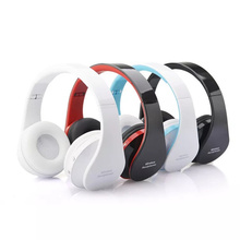 Wireless Headset Bluetooth Foldable Headphones Adjustable with Microphone PC Phone Mp3