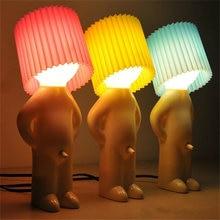 Naughty boy mrp a little shy man креативная лампа маленькая