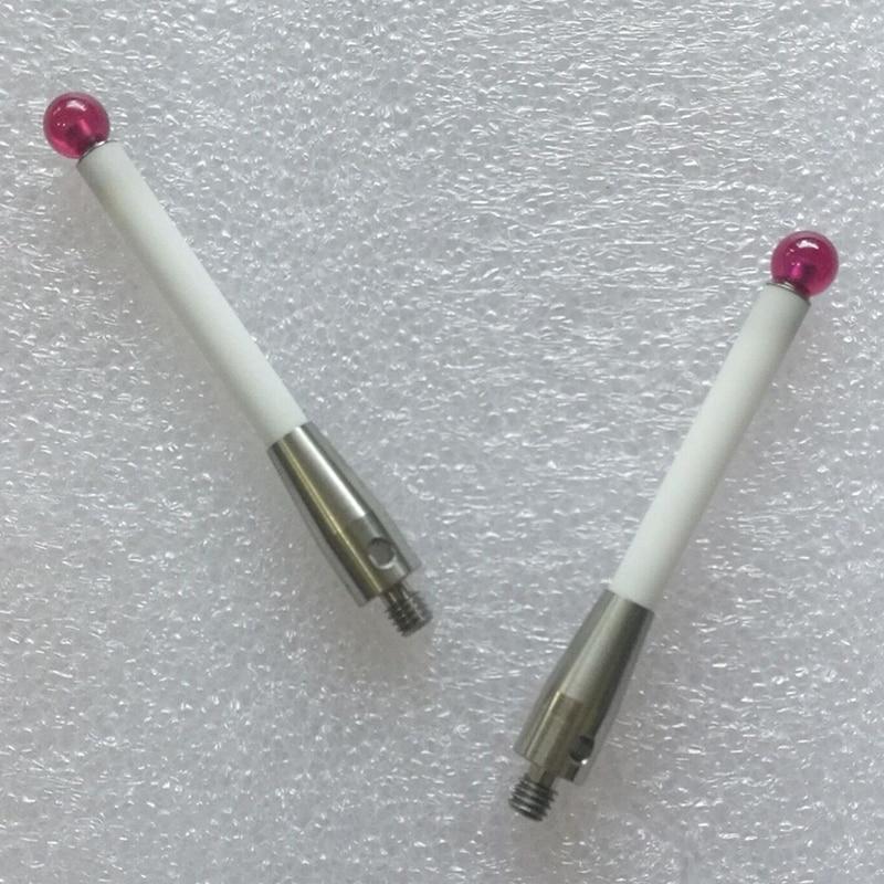 prova stylus 6mm diâmetro rubi bola cerâmica