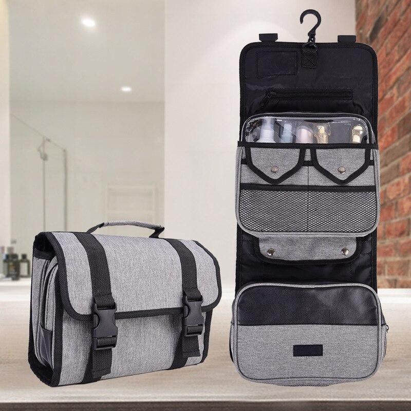 Women Make Up Handbag Hanging Cosmetic Bag Beauty Toiletry Bath Wash Case Men Travel Organizer Insert Pouch Makeup Box Neceser