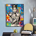 Graffiti Pop Art Boxer Queen Portrait Poster Painting Canvas Print Wall Picture For Living Room Home Decoration Frameless