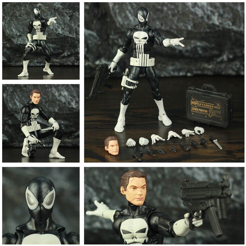 Custom Marvel Punisher Spider Man Noir Agent Peter Parker Stealth 6