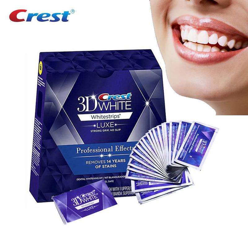 Profissional 3d branco dentes clareamento tiras efeitos profissionais dente branco dental branqueamento branqueamento