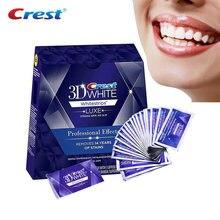 Bandes de blanchiment des dents blanches professionnelles 3D, effets professionnels, pour les dents blanches