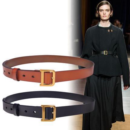 Высококачественный дизайнерский кожаный ремень, повседневный Роскошный металлический ремень с D образной пряжкой, женская одежда, ремень в ретро стиле для девушек,|Женские ремни| | АлиЭкспресс