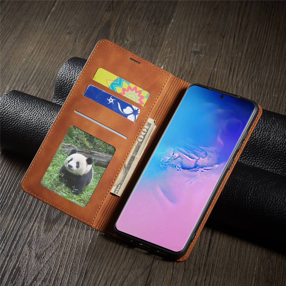 Luxury Leather Wallet Flip Case For Samsung S20 Plus Ultra Magnetic Card Holder Stand Cover For Samsung Galaxy S20plus Carcasa
