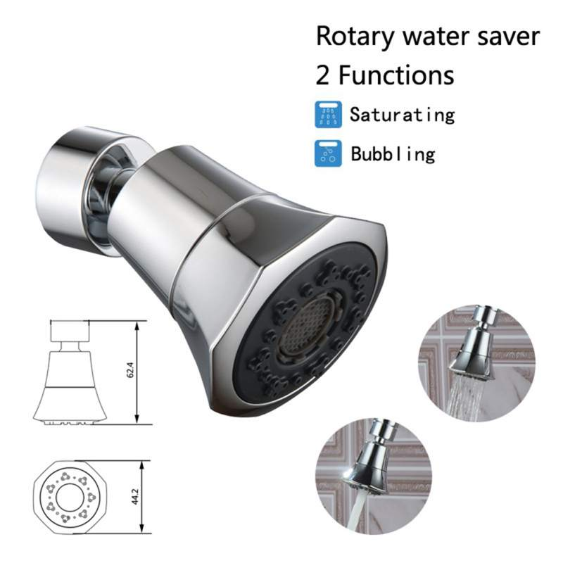 Kitchen Anti-splash Faucet Head 360 Degree Rotating Taps Filter Sprayer Nozzle Faucet Shower Water Saving Device