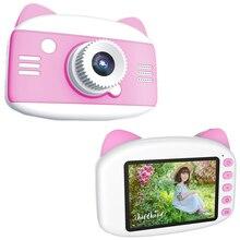 Cartoon Camera Photo Ips-Screen Kids Child Cute 1080P for Toys Birthday-Gift