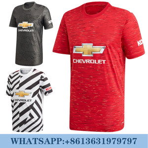Manchester united B FERNANDES 20 21 soccer jerseys player version BRUNO FERNANDES martial Bermejo JAMES shirt VAN DE BEE
