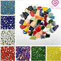 Ceramic Mosaic Tiles 100g Irregular Mosaic Making Materials DIY Hobby Wall Crafts Decorative Material Mosaic Pieces for Arts