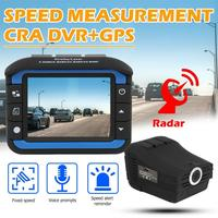 VGR1/3 S Car DVR Camera Dash Cam Fixed Speed Measurement Mobile Velocimetry GPS Radar Detector X K Ka Band Russian Version