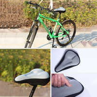 HOT SALE 2020 3D Unisex Breathable Soft Bike Seat Cover Comfortable Foam Seat Cushion Cycling Saddle For Bicycle Accessories