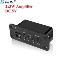 Decoder-Board Amplifier Audio-Module Radio MP3 Bluetooth Tf-Record FM Wireless DC 5V