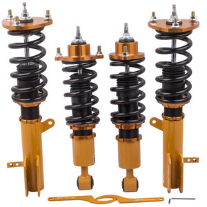 Image 1 - 24 Step Adjustable Damper Coilovers  Suspension for Jeep Compass 2007 2010 for Jeep Patriot (MK) FWD Absorber Adjustable Height
