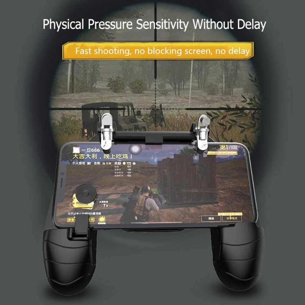 PUBG беспроводной для xiaomi iphone IOS Android игровой джойстик для геймпада джойстик пульт дистанционного управления Еда Курица Контроллер пожарный шутер джойстик