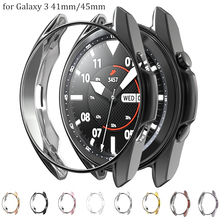 Case Protector Galaxy Watch Samsung Cover Bumper-Accessories 41mm for 3-45mm Watch3/Ultra-slim/Soft/..