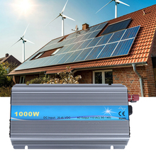 цена на Inverter Solar 1000W 20-45V Dc To 110V Ac Pure Sine  Voltage Converter Power Car Micro Inverter Micro Grid-Connected Equipme