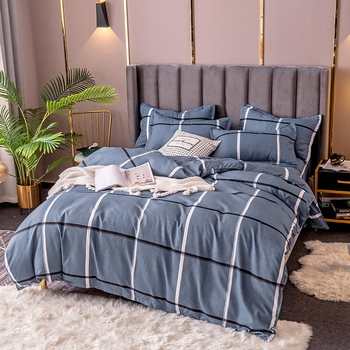 1pcs Polyester Quilt Cover Printed Duvet Cover Simple Home Decor Comforter Cover Double Queen King Bed Cloth No Pillowcase