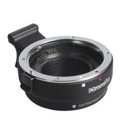 TWISTER.CK Commlite EF-EOSM AF Auto Focus Lens Adapter for Canon EF EF-S Lens to EOS M M1 M2 M3 M5 M6 M10 EF-M Mount Camera