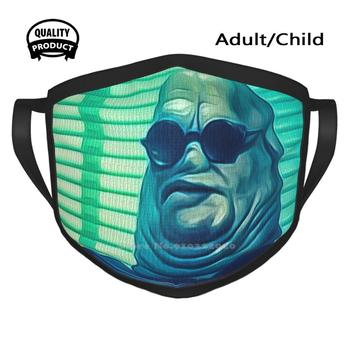 Hellraiser Cenobites Print Windproof Sport Mouth Mask Hellraiser Cenobites Chatterer Horror Film Clive Barker Butterball image