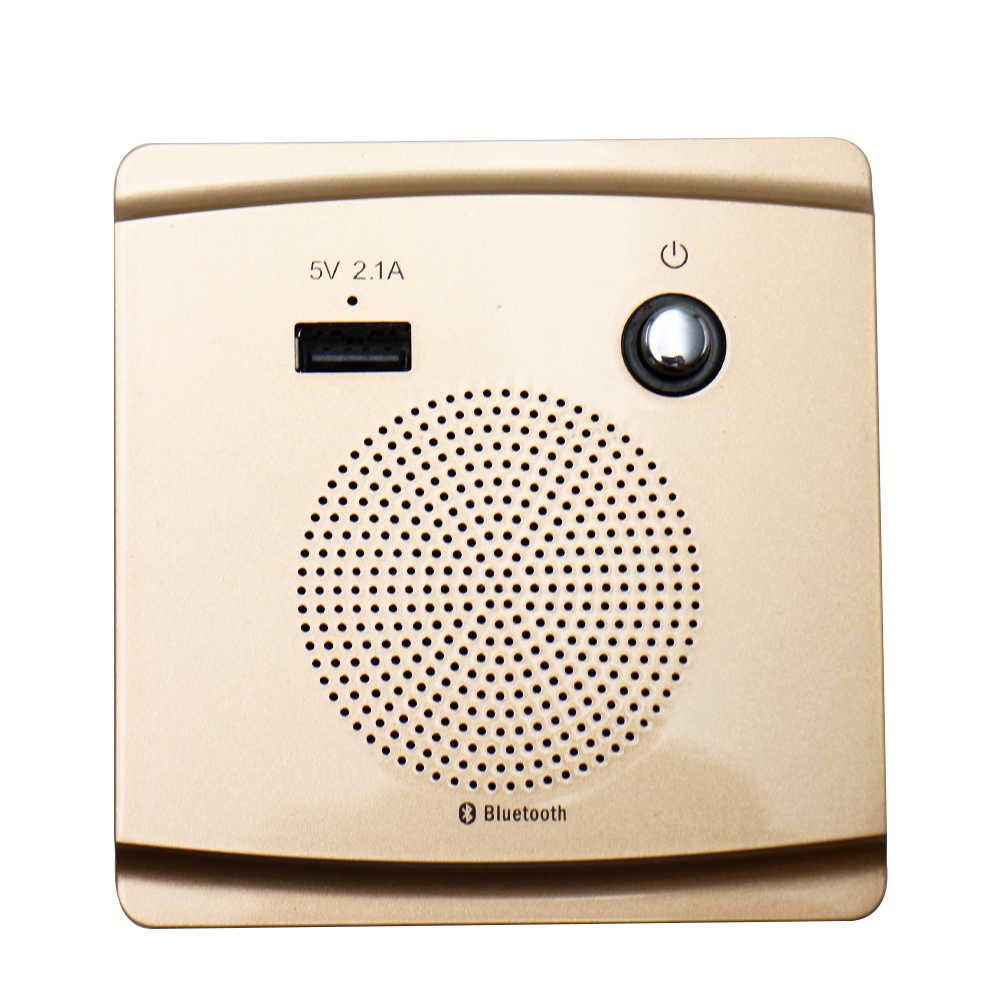 Caixa de som inteligente bluetooth 3.2w, alto falante, suporte de música, 5v 2.1a, entrada usb de carregamento