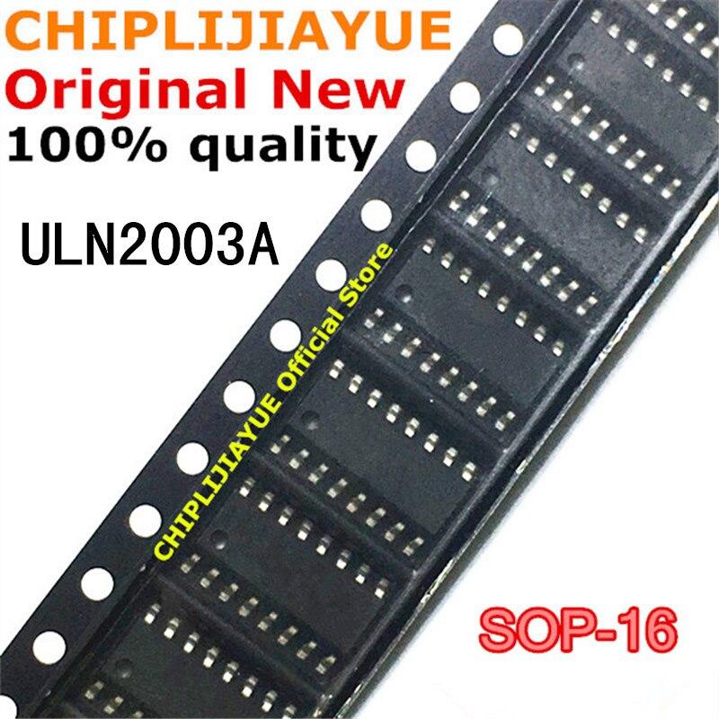 10-20 pces uln2003a sop16 uln2003adr uln2003 2003 sop-16 sop smd novo e original ic chipset