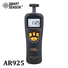 Tacômetro Digital Contato Tacômetro Medidor RPM Tacômetro digital de velocímetro Do Motor 0.05 ~ 19999.9 m/min 0.5 ~ 19999RPM Sensor Inteligente AR925