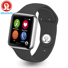 42mm New bluetooth smart watch Series 4 smartwatch case for apply iphone and samsung sony xiaomi android phone (Red Button) умные часы casmely intelligent bluetooth watch phone apply to samsung android phone systems such as millet ik08 black casmely ik08