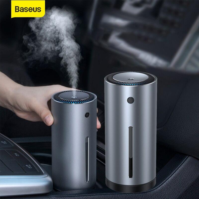 Baseus samochodowy nawilżacz powietrza zapachowy olejek eteryczny dyfuzor 300ml dyfuzor do aromaterapii USB dla Home Office Car oczyszczacz powietrza pielęgnacja powietrza