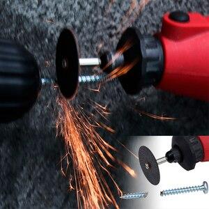 Image 5 - XCAN 20pcs 2.35mm/3.0mm Shank Resin Fiber Cutting Disc Metal Cutting Mini Saw Blade Rotary Tools Accessorie Kit cutter off wheel