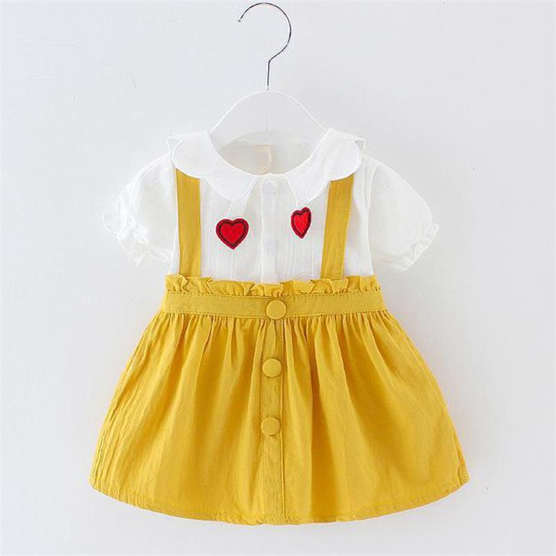 2020 Summer Newborn Infant Clothing Toddler Baby Girls Princess Dress Kids Baby Wedding Birthday Party Dresses For Baby Clothes