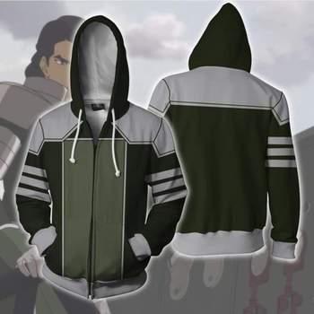 Avatar La Leyenda de Korra Mako Sudadera con capucha chaqueta Cosplay disfraz Avatar Hoodie hombres mujeres moda 3D impresión sudaderas con capucha
