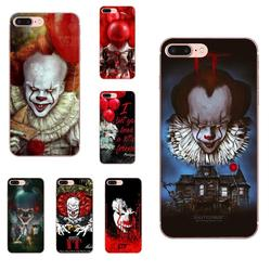 На Алиэкспресс купить чехол для смартфона it pennywise clown horror black for huawei honor mate nova note 20 20s 30 5 5i 5t 6 7i 7c 8a 8x 9x 10 pro lite play phone cases