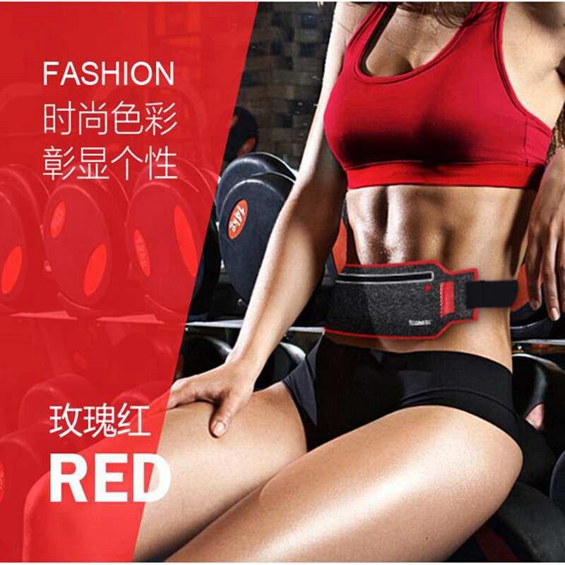 running - Running Waist Bag Sports Belt Bags Phone Case Men Women Jogging Bags Luminous Running Belt Waist Pack Running Aaccessories