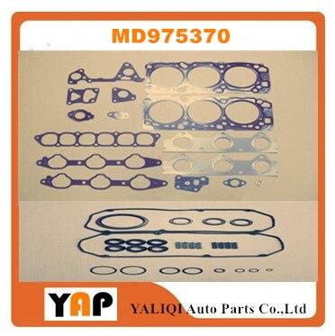 オーバーホールガスケットキットエンジン FITMITSUBISHI ためパジェロパジェロスポーツ V45W 6G74 3.5L V6 24V MD975370 1998-2010