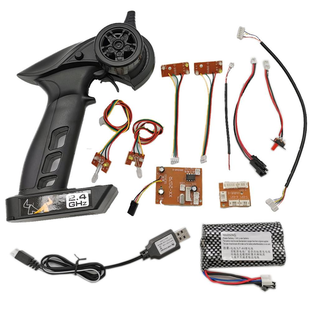 MN 2.4G Full Proportional KIT Car Version Transmitter Remote Controller For MN 90 91 96 99 99S