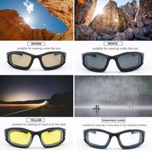 Daisy X7 Tactical Sunglasses UV400 Protection Military Goggl