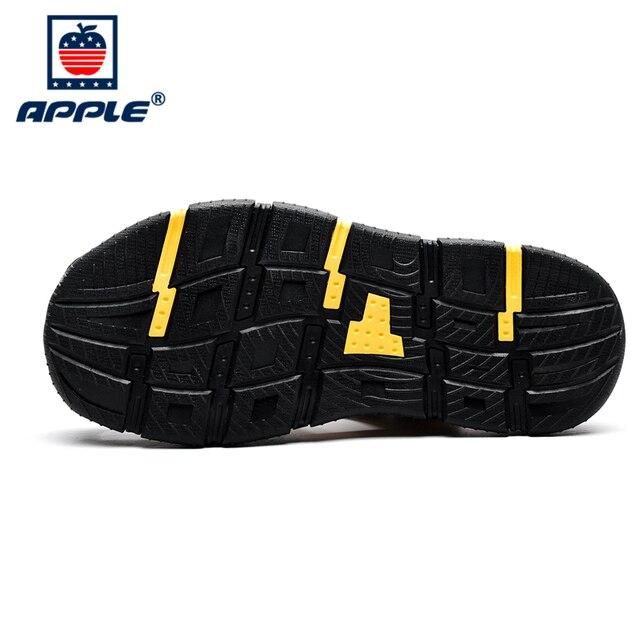 Фото apple 2020 высококачественные кожаные мягкие мужские сандалии цена