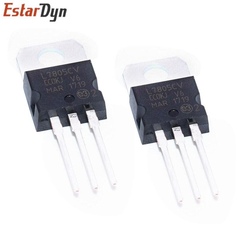 50pcs LM7805 L7805 7805 Voltage Regulator IC 5V 1.5A TO-220