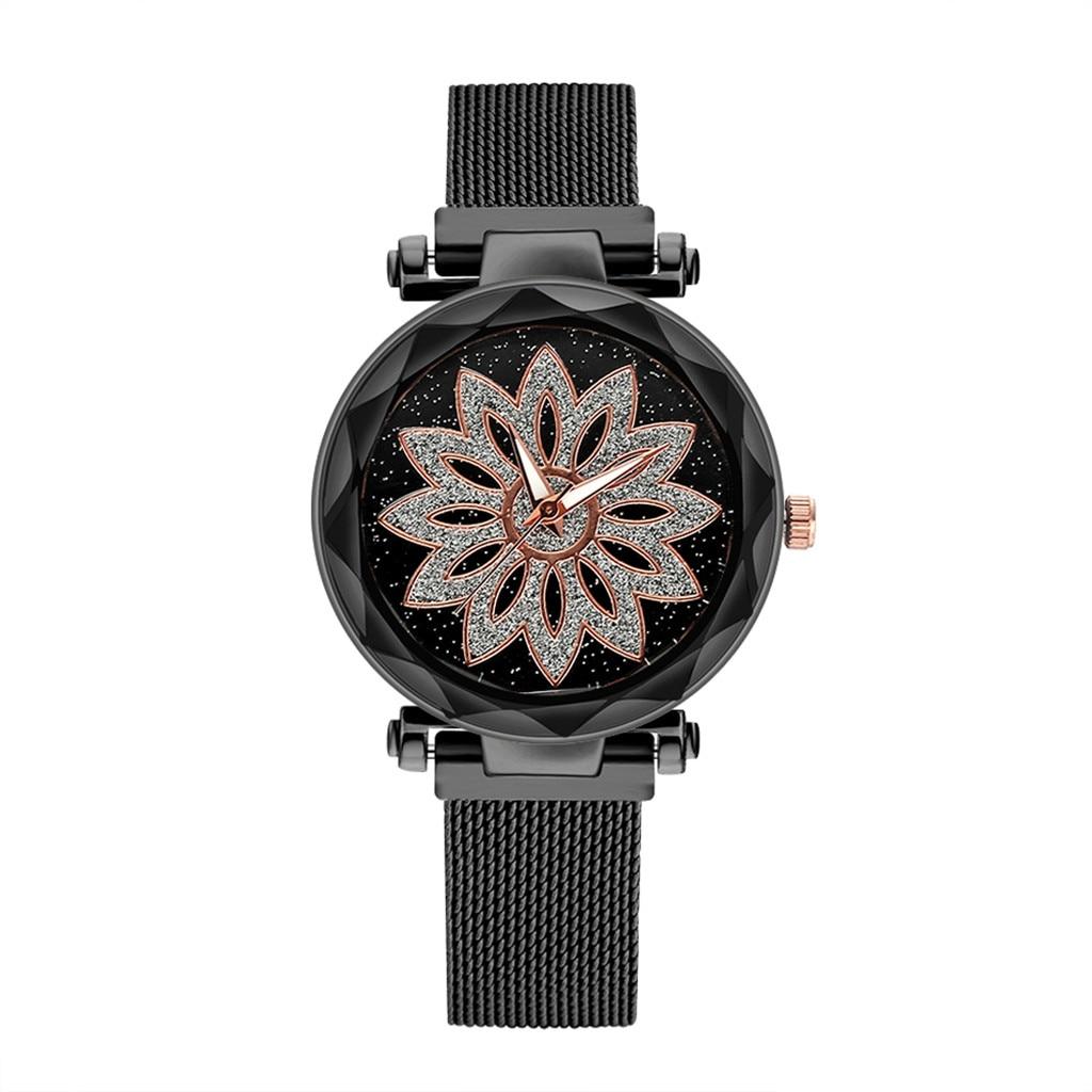 Luxury Women Watches Irregular Dial Ladies Casual Quartz Wristwatch Rose Gold Mesh Strap ClockDress Gift Relogio Feminino@50