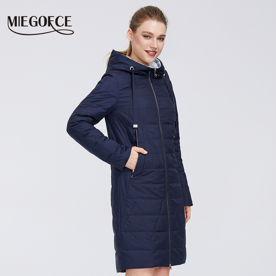 MIEGOFCE 2020 New Design Spring Jacket Women's Coat Windproof Warm Female Parka European and American Female Model Women's Coat 2
