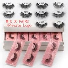 Eyelashes Wholesale 10/30/40/50pcs Mink Eyelashes Wholesale Lashes In Bulk Mink Lashes Natural False Eyelashes Bulk Makeup Lash