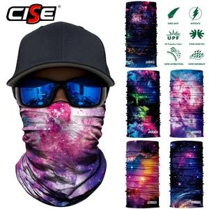Image 4 - 3D бесшовная Галактическая Балаклава, волшебная маска для лица, чехол, теплая мотоциклетная Лыжная повязка на шею, Байкерская велосипедная бандана, трубчатый шарф для мужчин и женщин