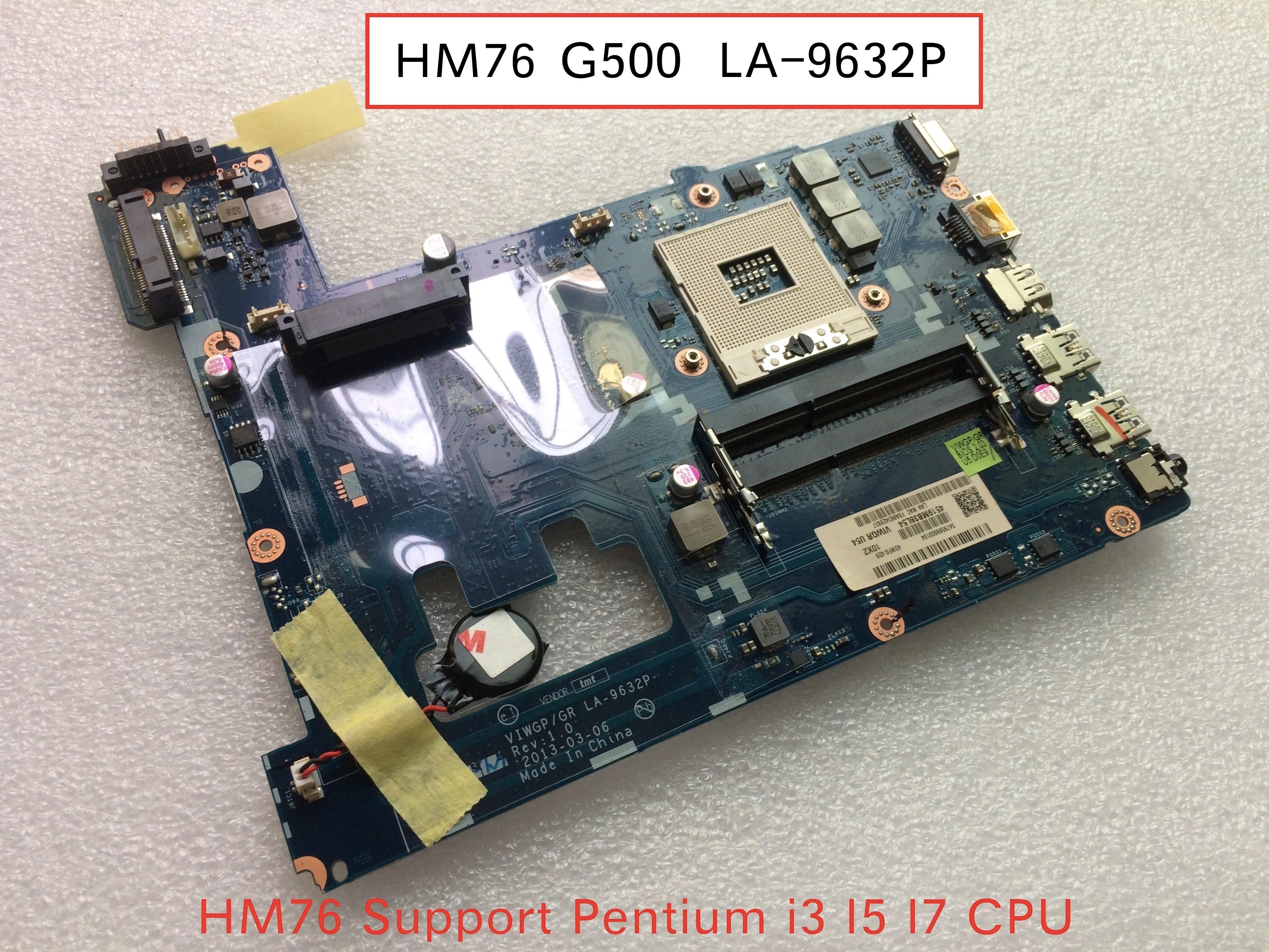 Original For Lenovo G500 VIWGP/GR LA-9632P Laptop PC Motherboard Mainboard