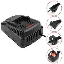цена на Li-ion Battery Charger for Bosch 14.4V 18V Battery BAT609 BAT618 Charging Stand