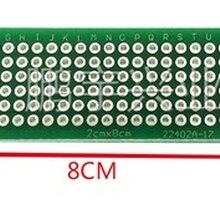 5x7 4x6 3x7 2x8 cm 5*7 4*6 3*7 2*8 protótipo de cobre do lado dobro pcb placa de circuito impresso universal para ard