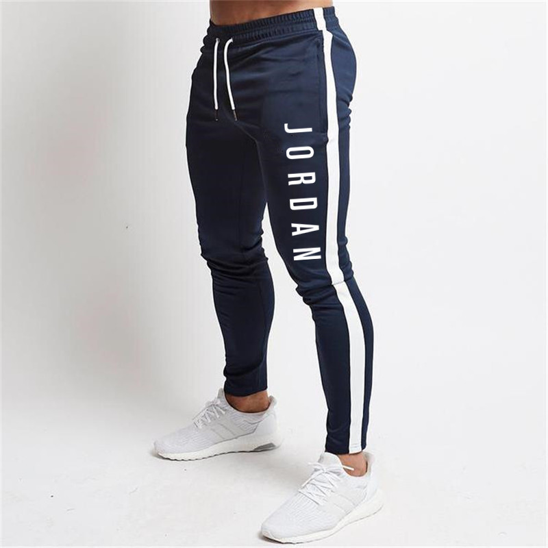 Hip Hop Running Jogging Pants Men Cotton Soft Bodybuilding Joggers Sweatpants Long Trousers Sport Training Pants